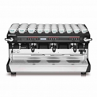 Professional coffee machine Rancilio CLASSE 9USB XCELSIUS TALL, 3 groups, electronic dosage