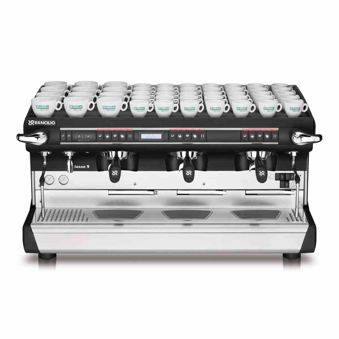 Maccina caffè professionale Rancilio CLASSE 9 USB XCELSIUS TALL,3 gruppi
