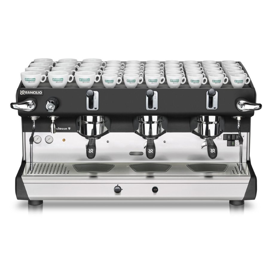 Professional coffee machine Rancilio CLASSE 9 RE, 3 groups