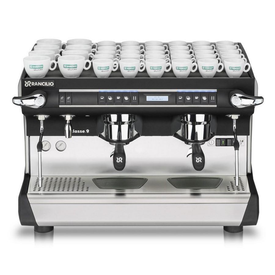 Professional coffee machine Rancilio CLASSE 9 USB, 2 groups