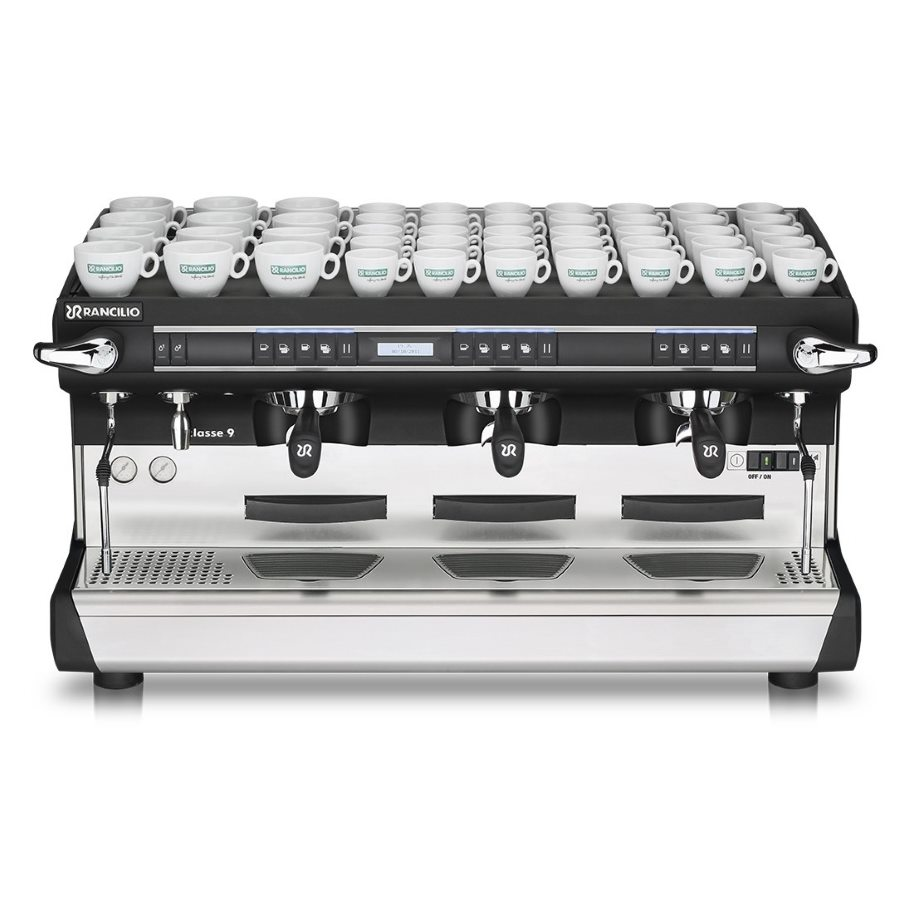 Professional coffee machine Rancilio CLASSE 9 USB TALL, 3 groups