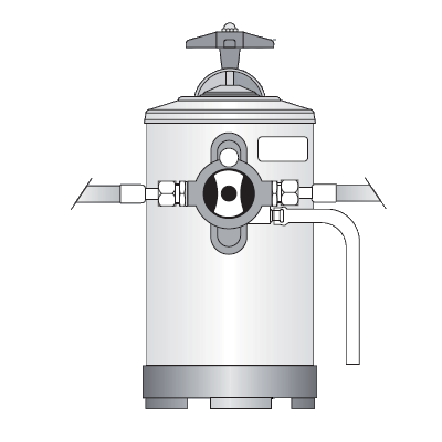 Addolcitore d'acqua manuale Bezzera, 12 litri