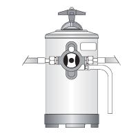 Addolcitore d'acqua BY PASS Bezzera, 8 litri