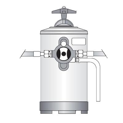 Addolcitore d'acqua manuale Bezzera, 8 litri