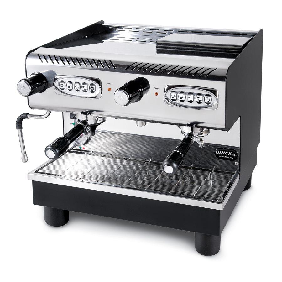 Macchina caffè professionale Quick Mill FRANCESCA DE TOP, pompa volumetrica, 2 gruppi