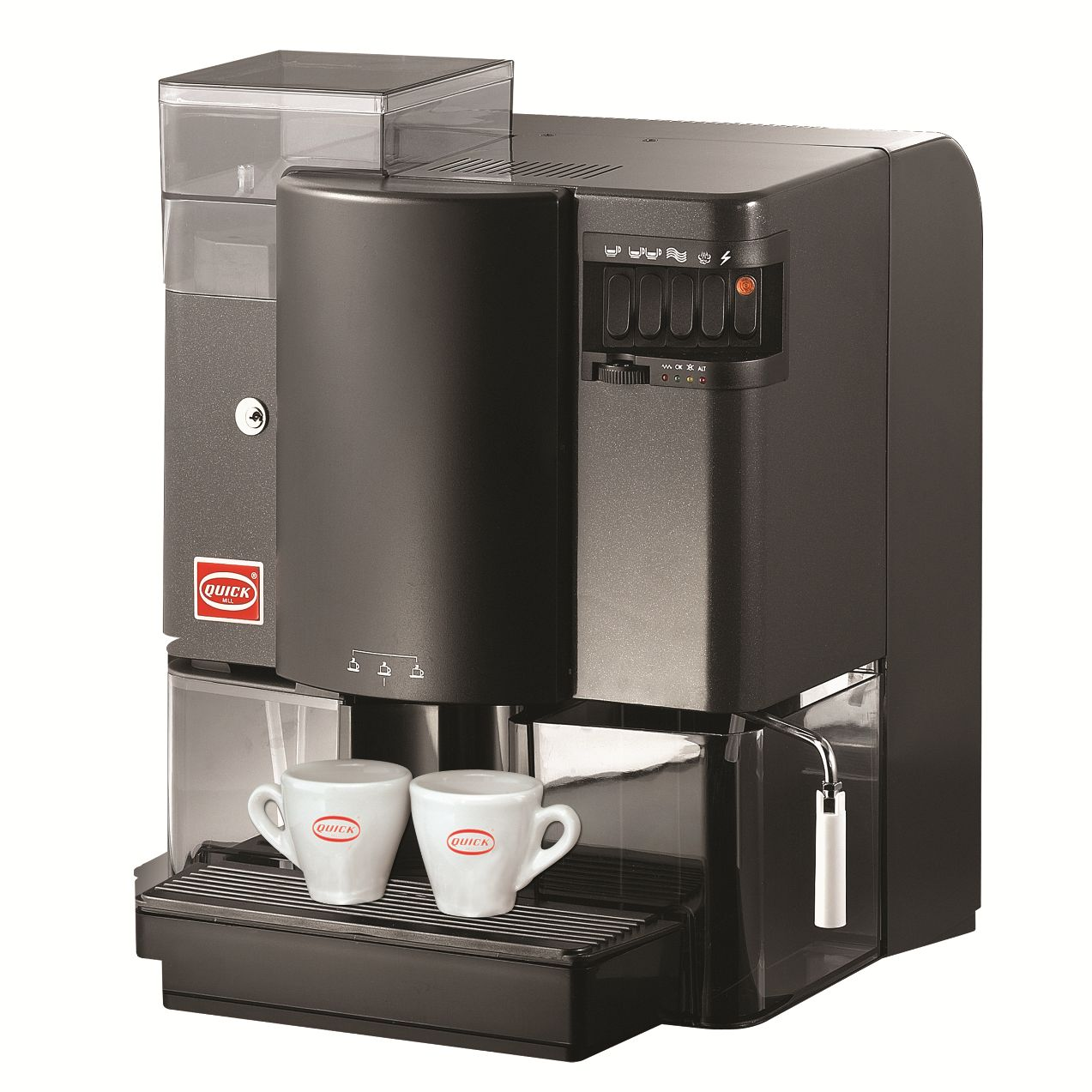 Super-automatic coffee machine Quick Mill Profesional MOD.05000, ABS