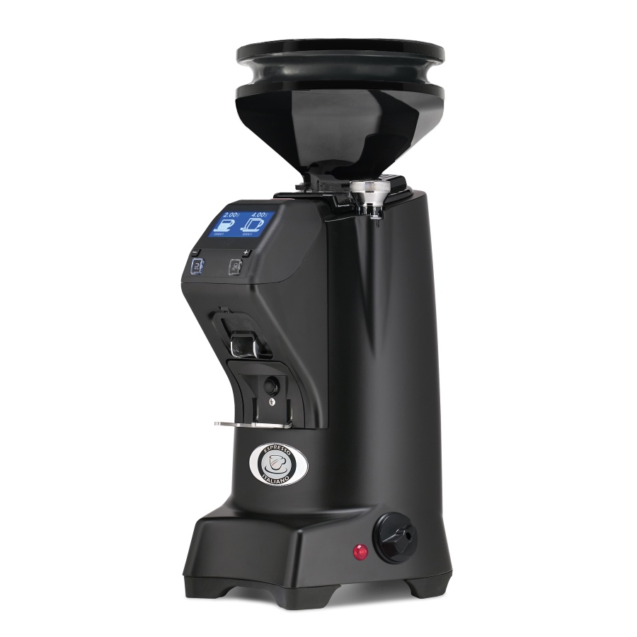 Râşniţă de cafea Eureka Zenith 65E Hi-Speed + Dark Grey Blow-Up (300gr)