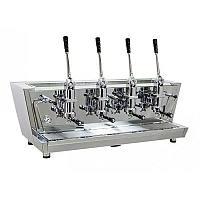 Professional lever coffee machine Izzo MyWay Valchiria, 4 groups