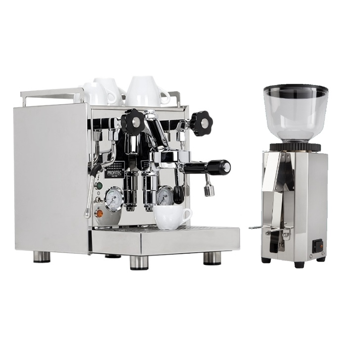 Coffee machine Profitec Pro 500 + coffee grinder Profitec Pro M54