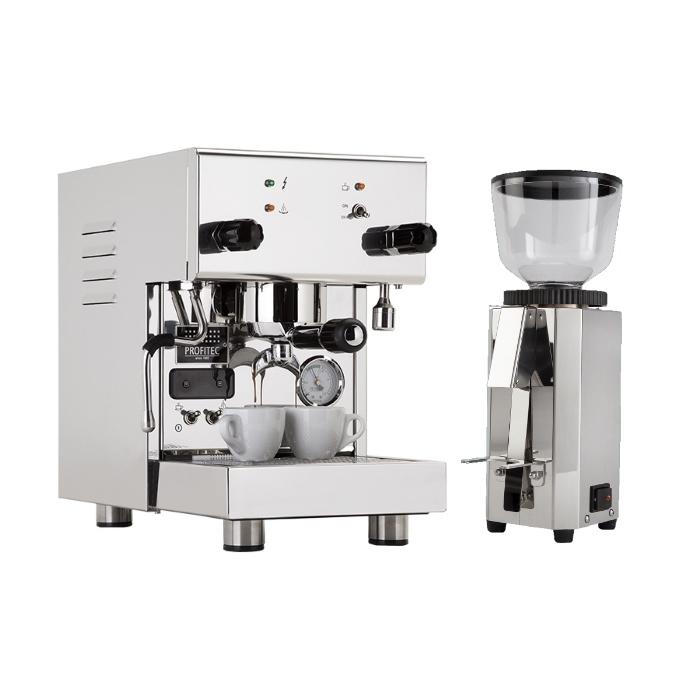 Coffee machine Profitec Pro 300 + coffee grinder Profitec Pro M54