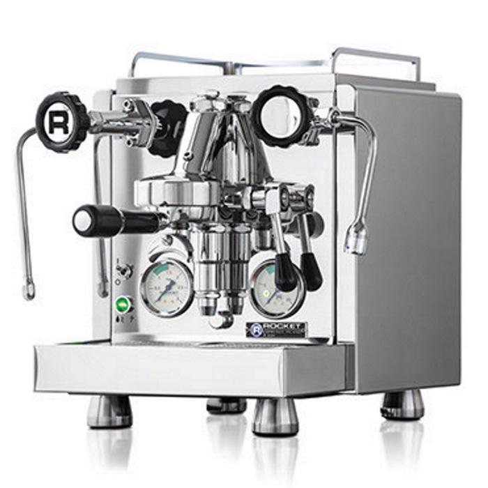Occasion setup: Coffee machine Rocket R60 V + Coffee grinder Rocket Fausto Chromed