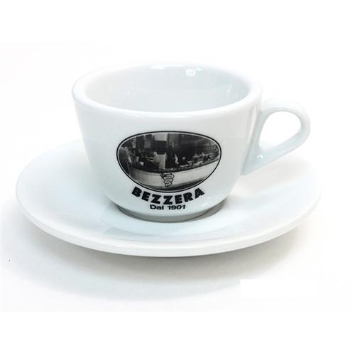 "Set 6 ceşti mari de Cappuccino de 260cc ""BEZZERA SINCE 1901"""