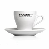 Set of 6 flat white cups 162cc - Rocket Espresso