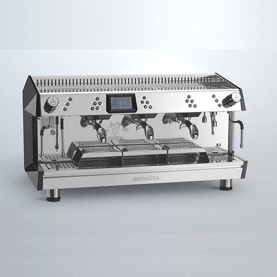 Professional coffee machine Bezzera Arcadia DE 360 Brewing, 3 groups