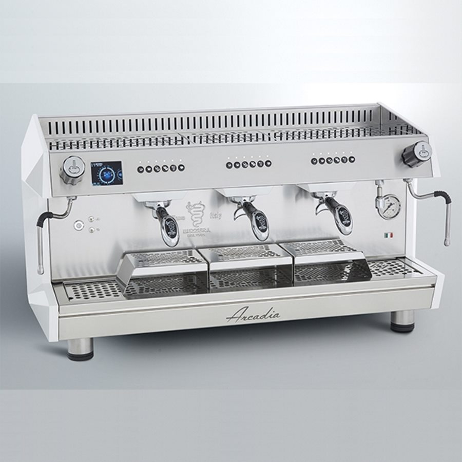 Professional coffee machine Bezzera Arcadia DE PID, 3 groups