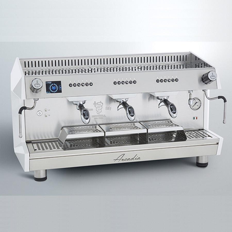 Macchina caffè professionale Bezzera Arcadia DE PID, 3 gruppi