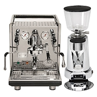 Coffee machine ECM Synchronika + Coffee grinder ECM V-Titan 64
