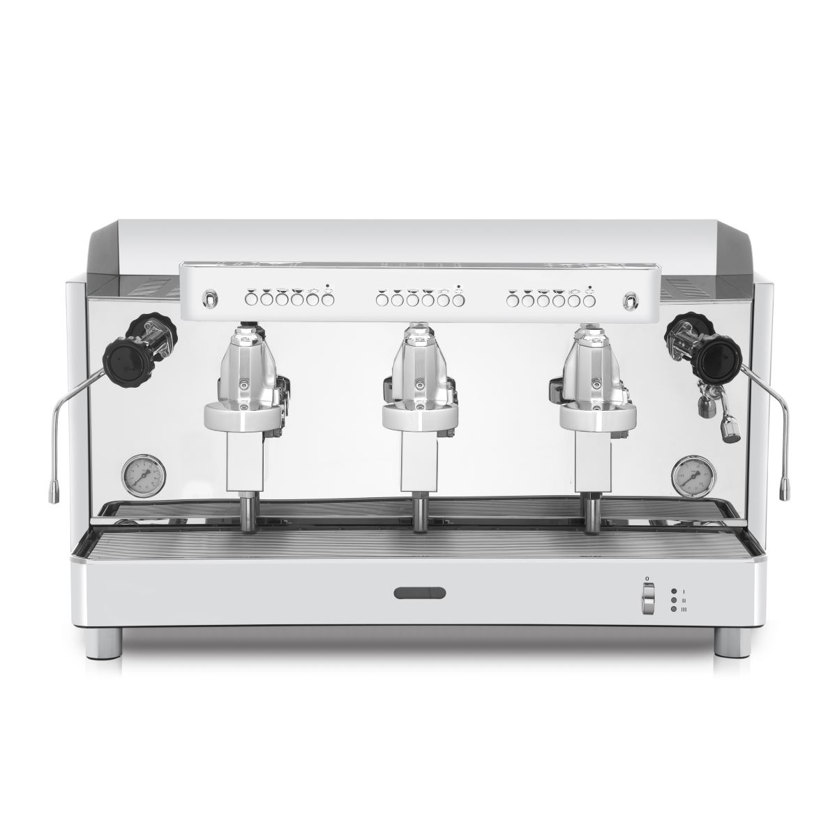 Espressor profesional Vibiemme Replica 2B Elettronica, 3 grupuri