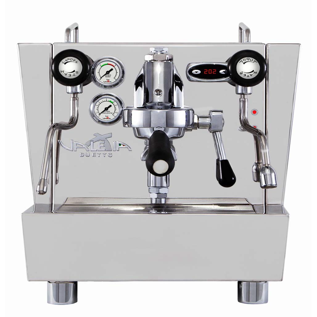 Coffee machine Izzo Valexia DUETTO II INOX