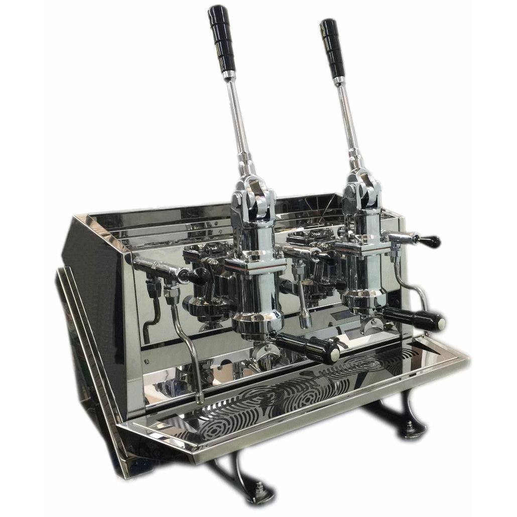 Espressor profesional cu pârghie Ambient Espresso ACS Vostok, 2 grupuri