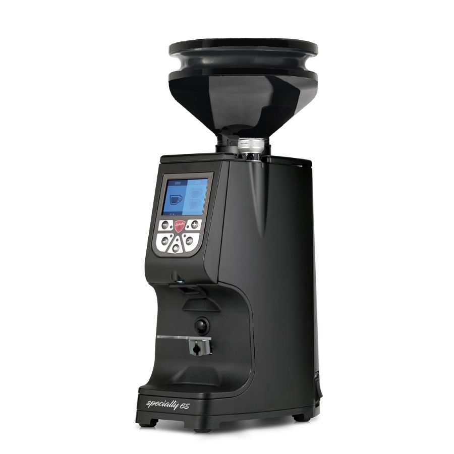 Râşniţă de cafea Eureka Atom Specialty 65 + Dark Grey Blow-Up (300gr)