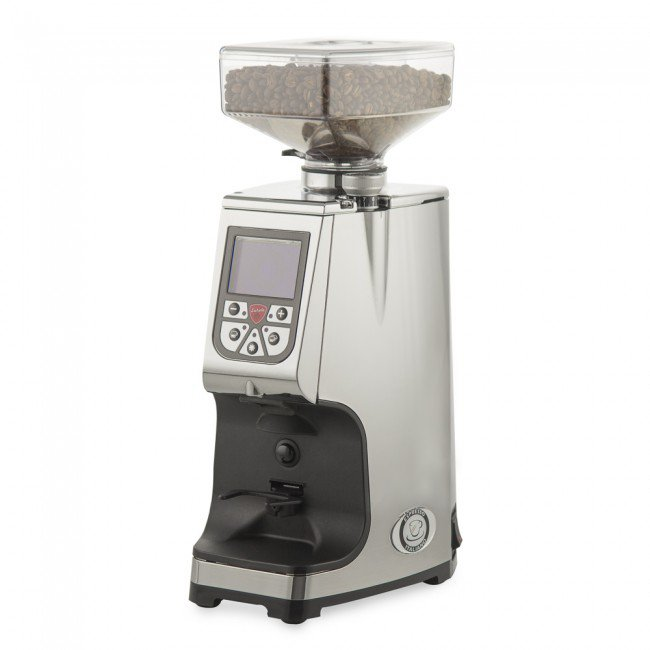 Electronic coffee grinder Eureka Atom - Chrome