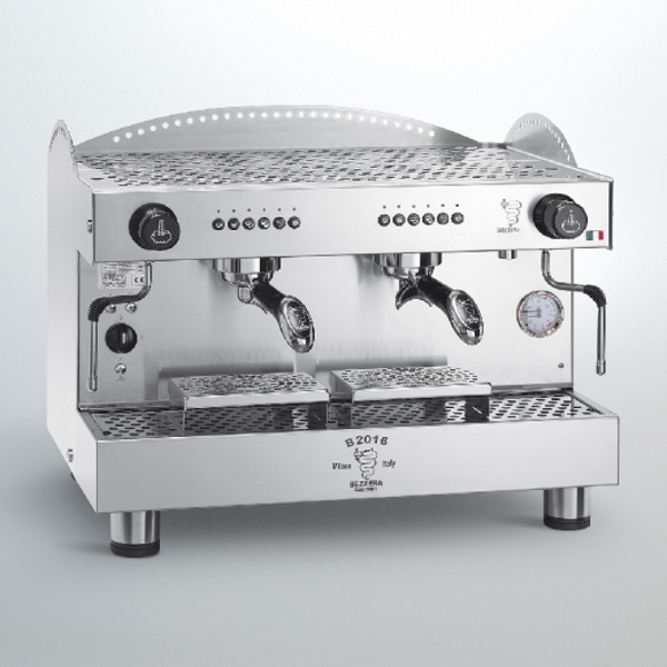 Espressor profesional Bezzera B2016 DE, dozare alectronică, 2 grupuri