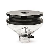 Pâlnie de cafea BlowUp transparentă completă 300 gr. Eureka Zenith/Olympus/Atom