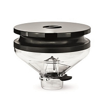 Transparent BlowUp bean hopper Eureka Zenith/Olympus/Atom 350 gr. complete