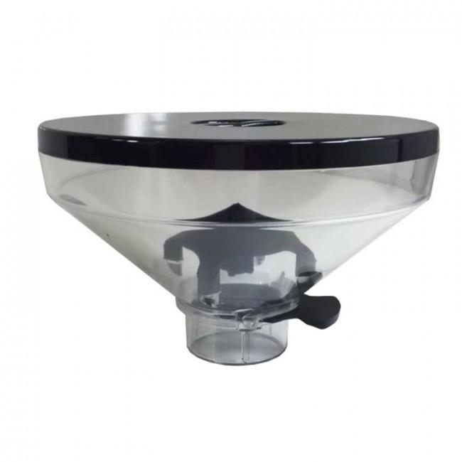 Transparent bean hopper Eureka Zenith/Olympus/Atom 350 gr. complete