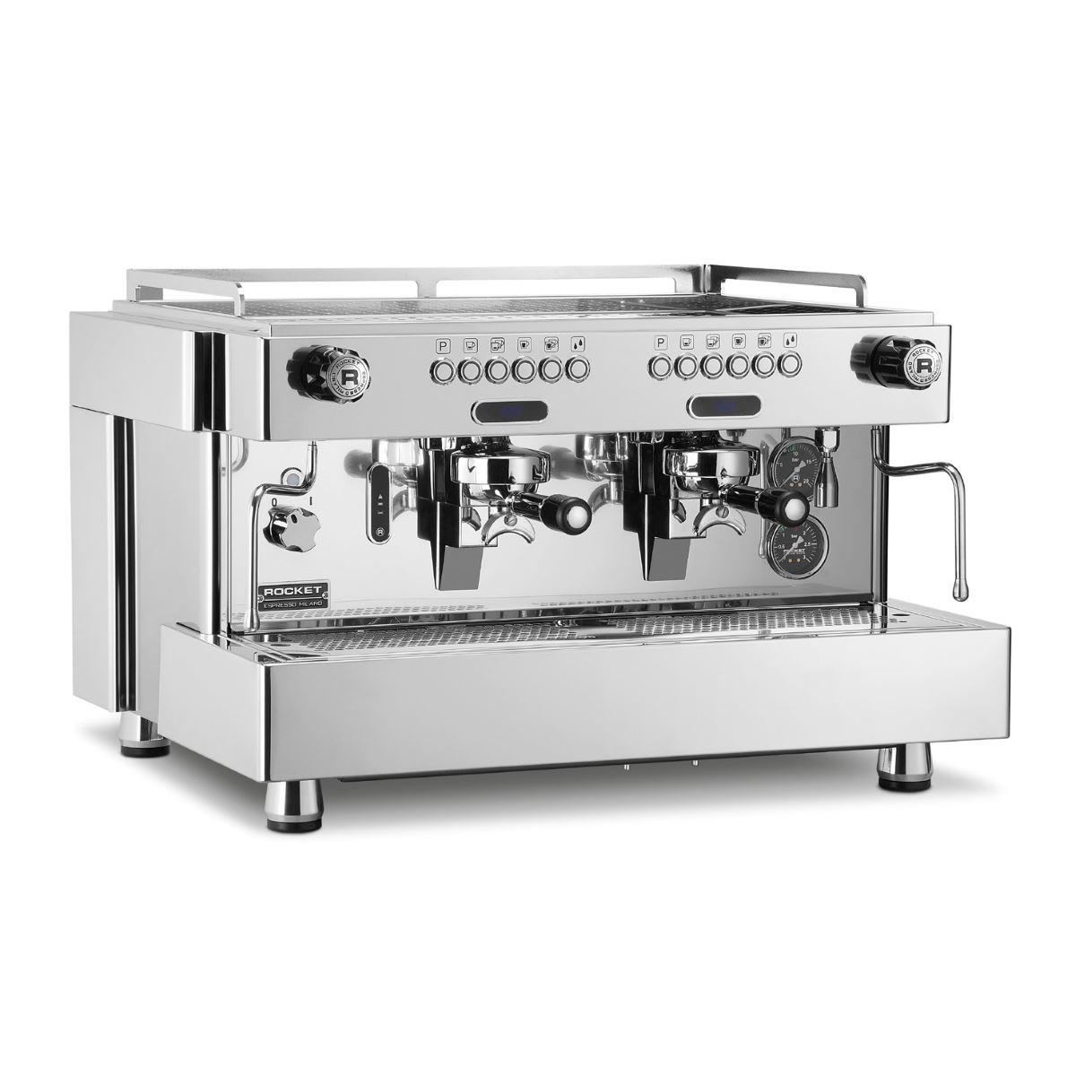 Macchina caffè professionale Rocket RE Dual Boiler, 4 gruppi