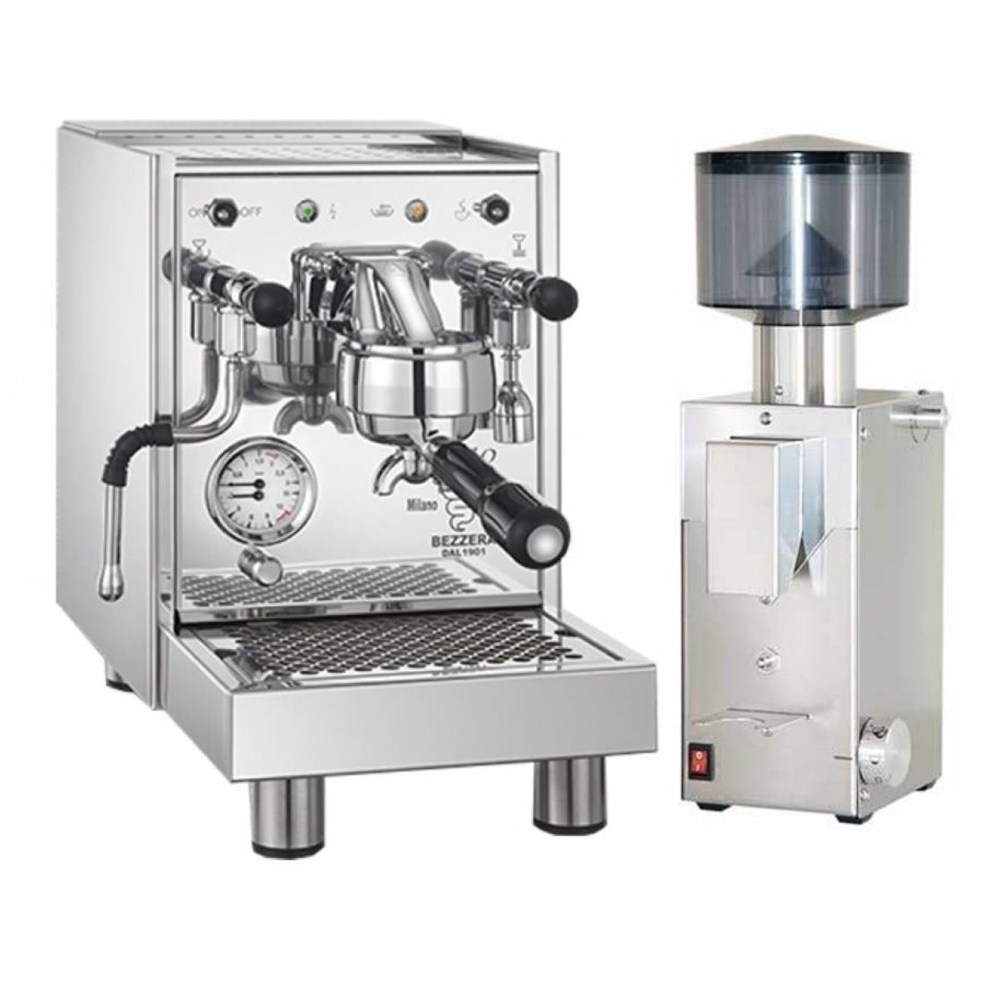 Coffee machine Bezzera BZ09 PM + Coffee grinder Bezzera BB005 TM