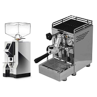 Coffee machine 969.coffee Elba1 Lux + Coffee grinder Eureka Mignon Specialita' 16CR - Chrome