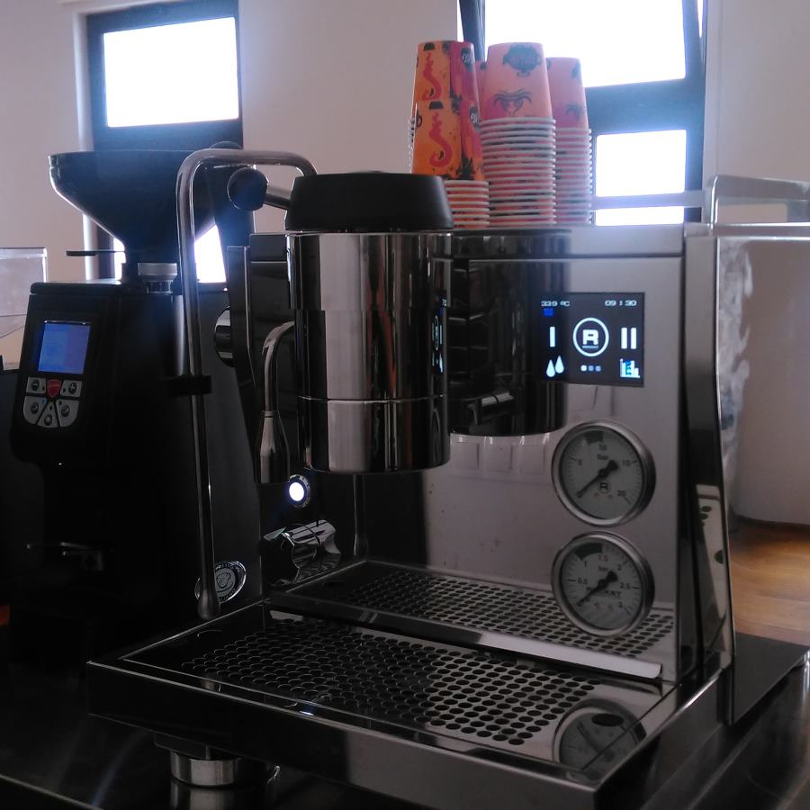 Coffee machine Rocket R NINE ONE + Coffee grinder Eureka Atom - Occassion