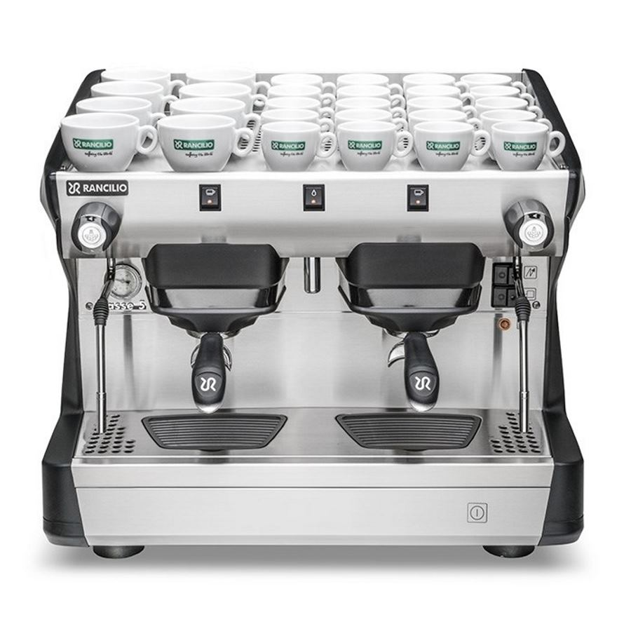 Maccina caffè professionale Rancilio CLASSE 5 S COMPACT, 2 gruppi
