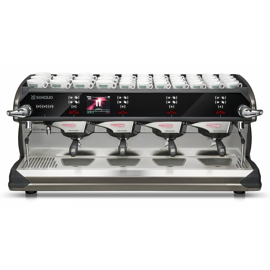 Professional coffee machine Rancilio CLASSE 11 USB XCELSIUS TALL, 4 groups