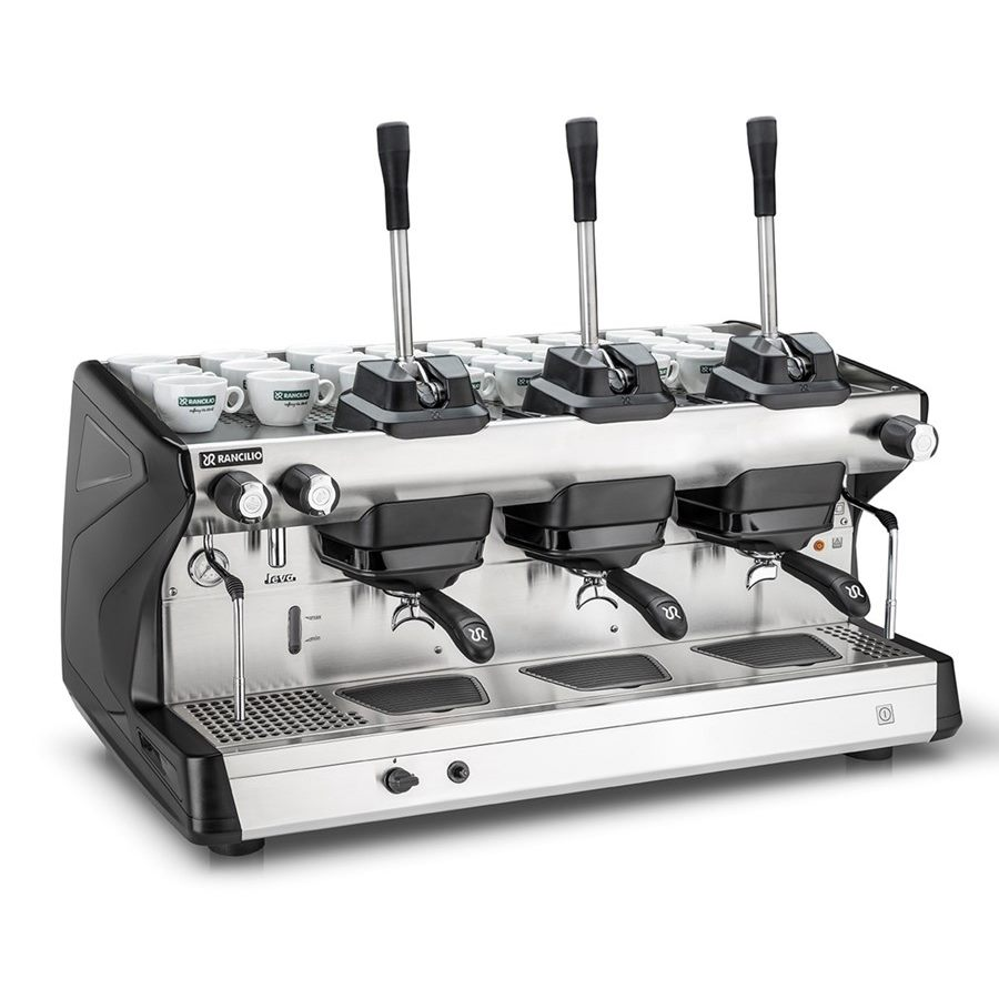 Professional coffee machine Rancilio LEVA, 3 groups