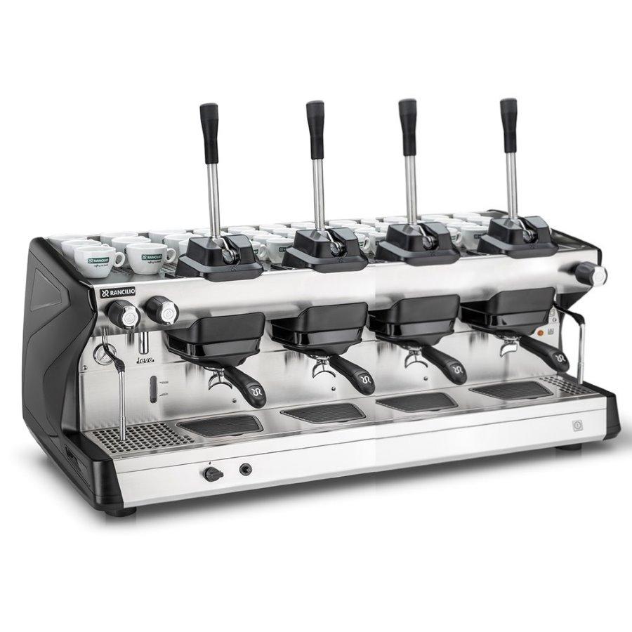 Maccina caffè professionale Rancilio LEVA, 4 gruppi