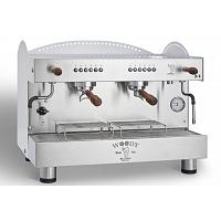 Macchina caffè professionale Bezzera Woody, dosaggio elettronico, 2 gruppi