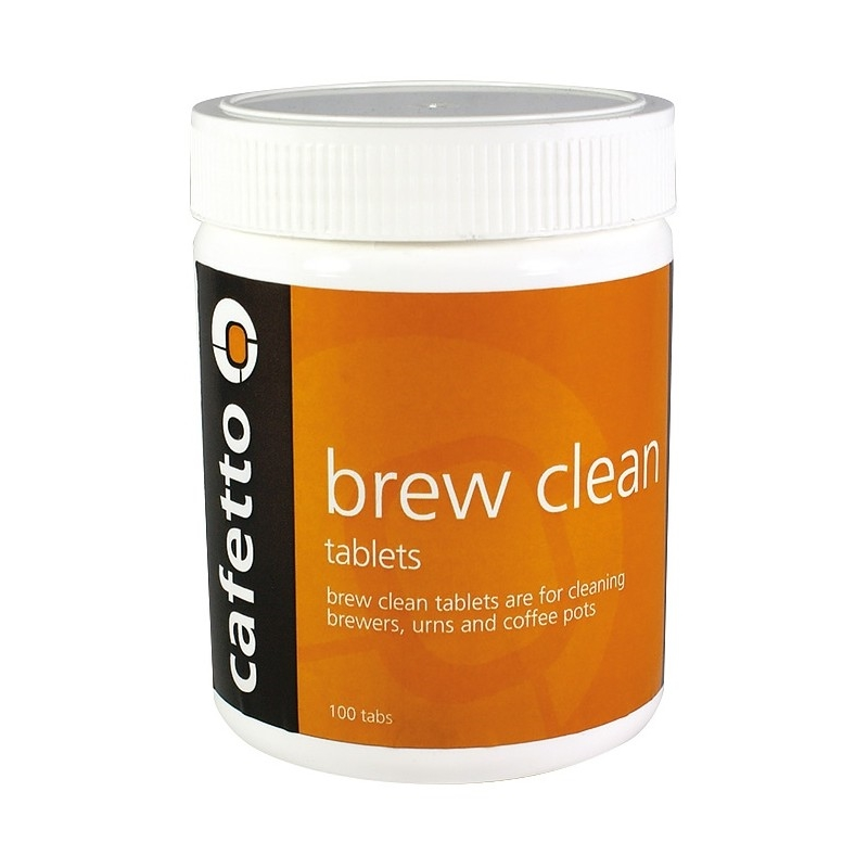 Cafetto Brew Clean - tablete de curatare (borcan cu 100 tablete de 4gr)