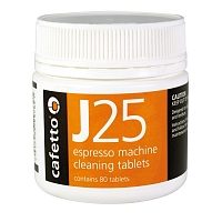 Cafetto J25 - clean tablets (jar with 80 tablets of 2.5gr)