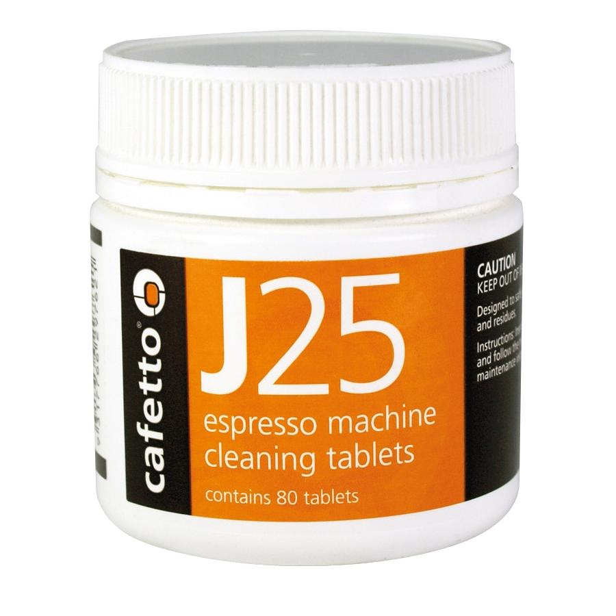 Cafetto J25 - tavole di pulite (barattolo con 80 tavole di 2.5g)