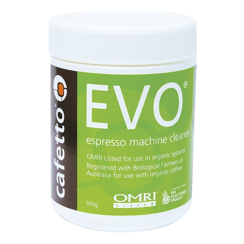 Cafetto EVO - premium backflush cleaning powder for coffee machines (jar 500gr)