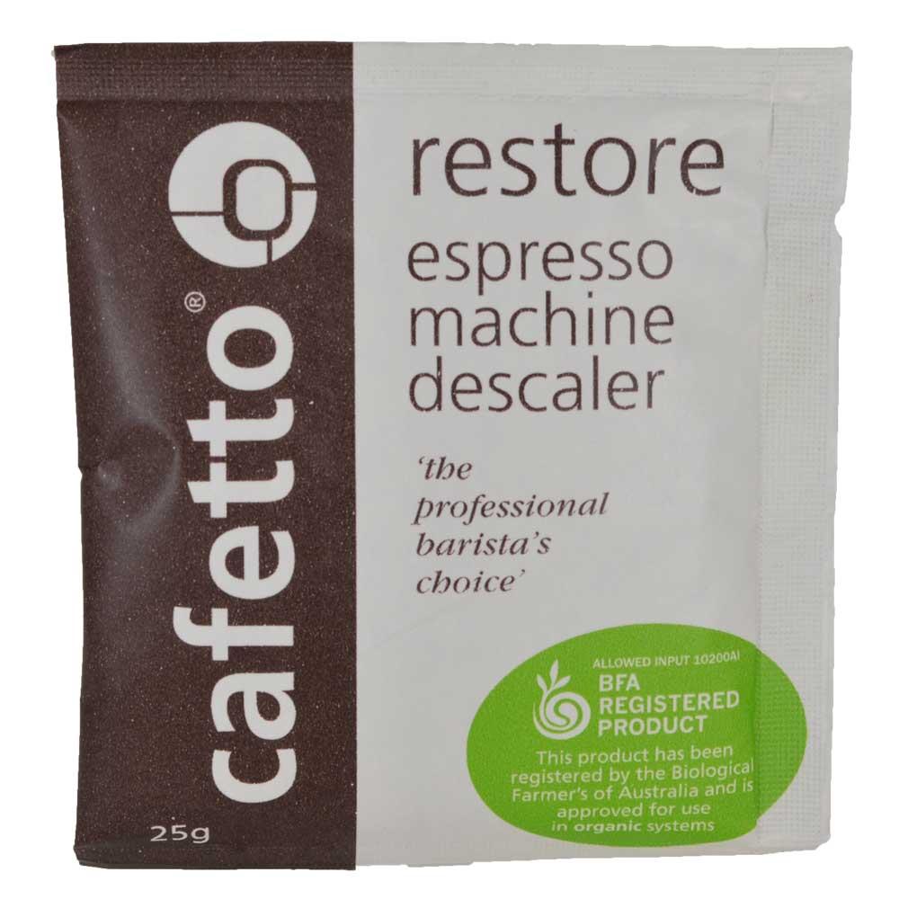 Cafetto Restore - decalcifiant organic pudra (plic de 25gr)