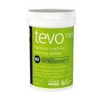 Cafetto Tevo Mini - premium backflush cleaning tablets for coffe machines (jar 60 tablets of 1.5gr)