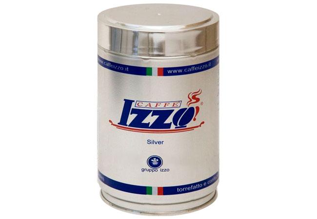 Cafea boabe Izzo Silver, cutie 250g