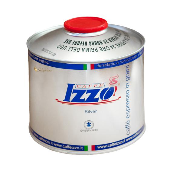 Coffee beans Izzo Silver, tin 1kg