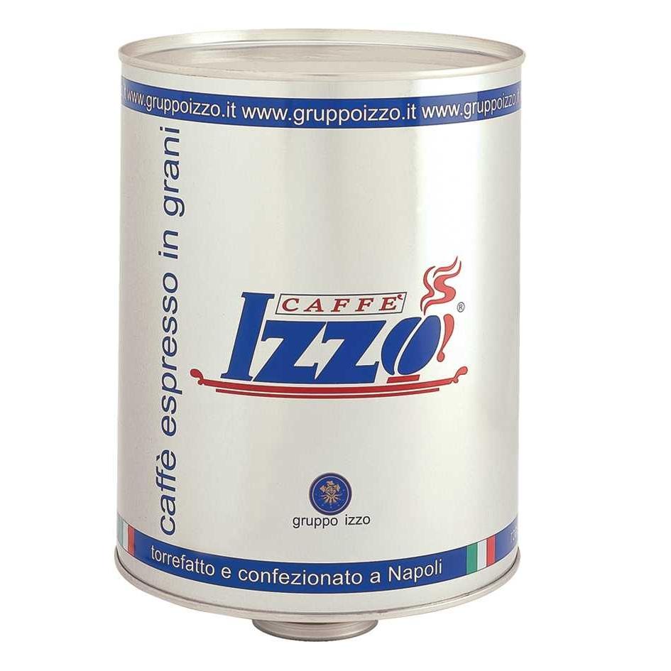 Coffee beans Izzo Silver, tin 3kg