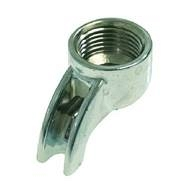 "Filter holder spout 3/8"" 1 WAY short"