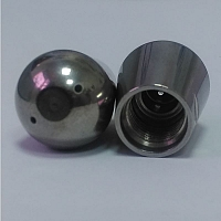 Steam nozzle with 2 holes for ECM coffee machines